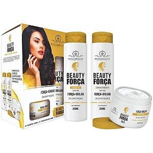 Kit Capilar Beauty Força Phallebeauty
