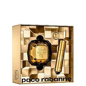 Paco Rabanne Kit Lady Million Perfume 80ml + Perfume 10ml