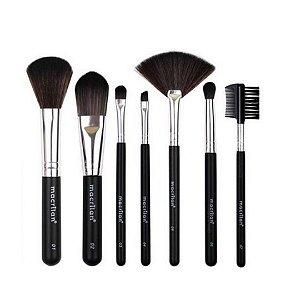 Kit Com 7 Pinceis Para Maquiagem Macrilan