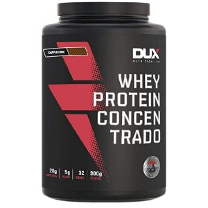 Whey Concentrado Dux Nutrition 900g Sabor Capuccino