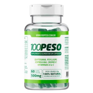 100Peso Com 60 Cápsulas Tratamento 1 Mês