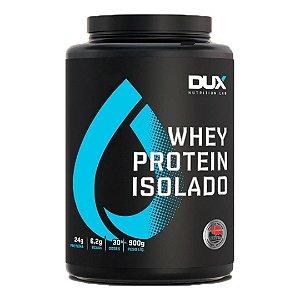 Whey Protein Isolado 900g - Morango - Dux Nutrition