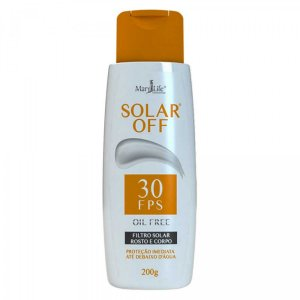 Protetor Solar Off Fps 30 Rosto E Corpo - Mary Life 200G