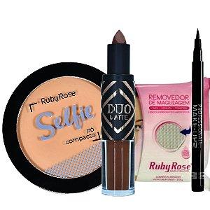 Combo Kit de Maquiagem Ruby Rose