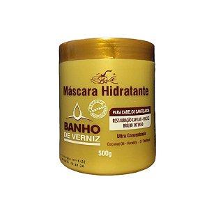 Máscara Hidratante Capilar Banho de Verniz 500g - Belkit