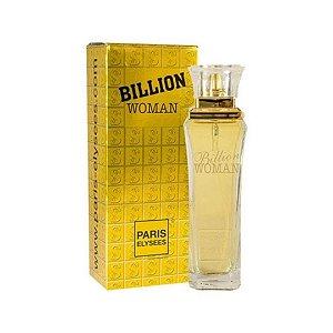 Perfume Billion Woman Paris Elysees Eau de Toilette 100ml