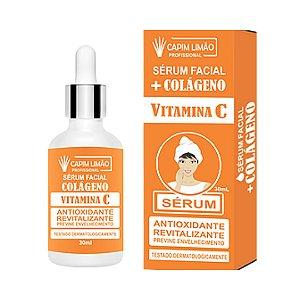 Sérum Colágeno Vitamina C - Capim Limão 30ml