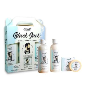 Kit Capilar Masculino Black Jack (4 Itens)