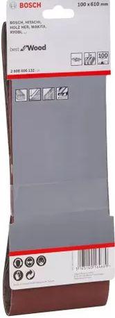 Lixa de cinta bestforWood 100x610mm G100