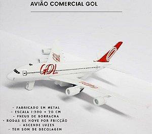 Avião Miniatura GOL