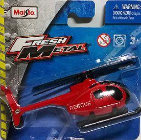 Helicóptero Rescue - Vermelho
