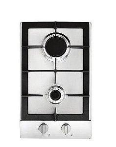 Dominó a Gás 30cm com 2 Queimadores Prime Cooking 220V Cuisinart