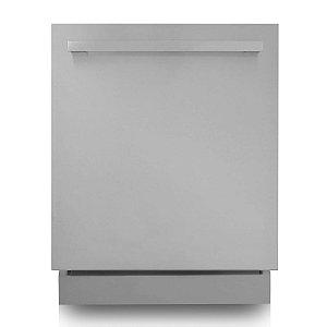 Lava-louças 14 serviços com frente em  inox - 220V