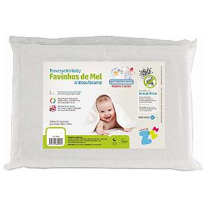 Travesseiro Baby Favinhos de Mel - Antissufocante