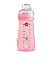 Mamadeira Easy Active 270ml Rosa 2+ - Mam