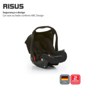Bebê Conforto Risus Black - ABC Design