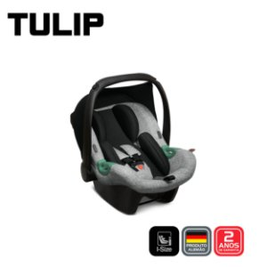 Bebê conforto Tulip Asphalt Graphite- ABC Design