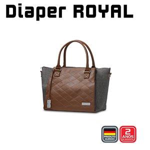 Bolsa Diaper Bag Royal - Asphalt - ABC Design