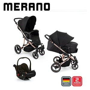 Carrinho Merano 4 TRIO Rose Gold Diamond - ABC Design