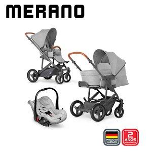Carrinho Merano 4 TRIO Woven Grey- ABC Design