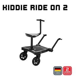 Kiddie Ride on 2 com assento - Black - ABC Design