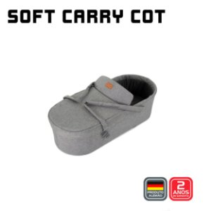 Soft Carry Cot (MERANO) Woven - ABC Design