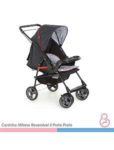 Carrinho Milano Reversível II Preto - Galzerano