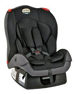 Cadeira Unika Preto com detalhe Cinza - Burigotto