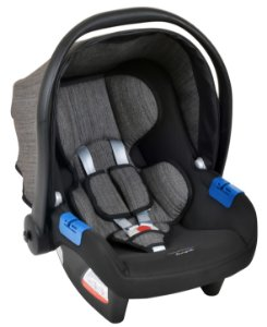 Bebê conforto Touring X Mesclado Preto- Burigotto