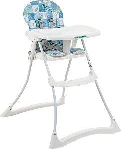 Cadeira de refeição Bon Appetit XL Peixinho Azul -Burigotto