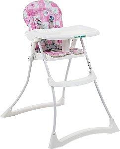 Cadeira de refeição Bon Appetit XL Peixinho Rosa -Burigotto