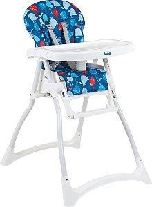 Cadeira de refeição Merenda Passarinho Azul- Burigotto
