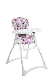 Cadeira de refeição Merenda Passarinho Rosa - Burigotto