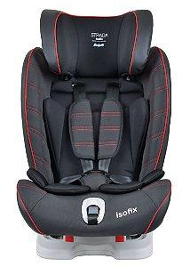 Cadeira auto Strada Isofix Black Red Line - Burigotto