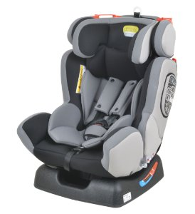Cadeira auto Infinity Gray Black - Burigotto