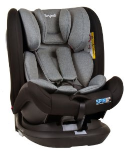 Cadeira auto Spin 360º Isofix Cinza - Burigotto