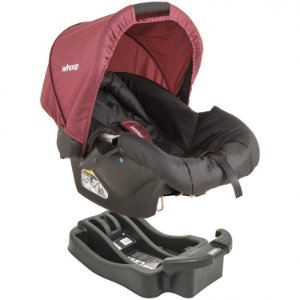 Bebê Conforto CozyCot Click 416 T Preto/Vinho - Kiddo