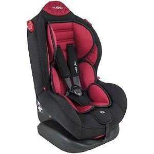 Cadeira para Auto Max Plus Preto/Vermelho  - Kiddo