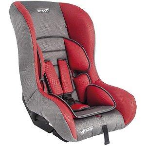 Cadeira para Auto Rally Cinza/Vermelho - Kiddo