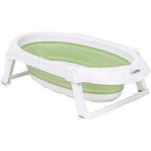 Banheira Dobrável Jelly Verde - Kiddo