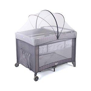 Berço Portátil Sereno Grey Hail - Infanti