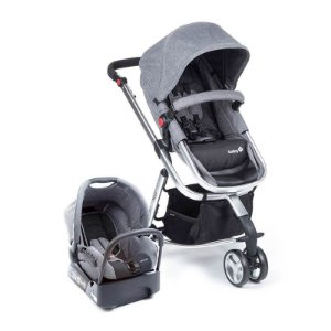Travel System Mobi Grey Denim Silver - Safety 1st