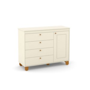 Cômoda Zupy Off White EcoWood - Matic