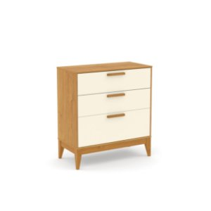 Cômoda Nature Off White Freijó EcoWood - Matic