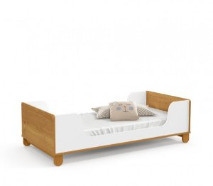 Mini cama Zupy Branco Soft Freijó EcoWood - Matic