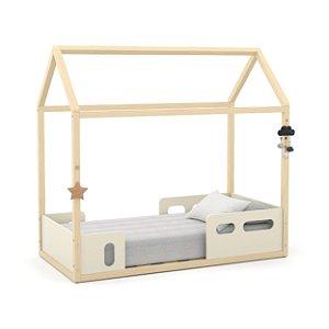 Mini cama Liv Off White Natural - Matic