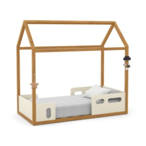 Mini cama Liv Off White Freijó - Matic