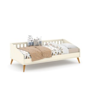 Cama Babá Retrô Off White EcoWood - Matic