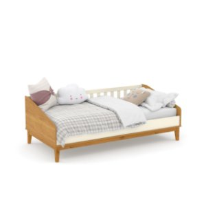 cama babá nature off white freijó ecowood - matic