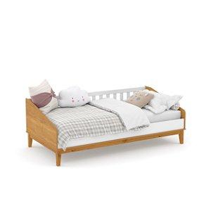 cama babá nature branco soft freijó ecowood - matic